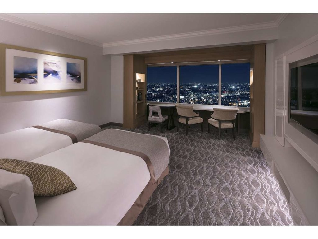 横浜ロイヤルパークホテル、スカイリゾート アトリエ デラックスツイン シティービュー